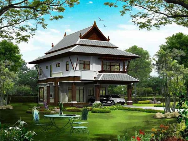 Bangkok house design bangkok architects concepts for Home designs thailand