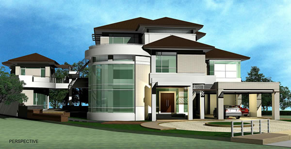 Small house plan thailand house plans for Small house design thailand